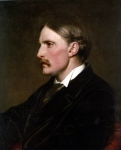 Lord Frederick Leighton (1830-1896) Portrait of Henry Evans Gordon Oil on Canvas 61 x 50 cm (24.02