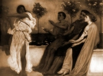 Lord Frederick Leighton (1830-1896) The Dancers Oil on canvas Private collection