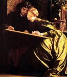 "Lord Frederick Leighton (1830-1896) The Painter\'s Honeymoon Oil on canvas, c1864 77.5 x 83.8 cm (30.51"" x 32.99\"") Museum of Fine Arts (Boston, United States)"