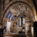Pietro Lorenzetti (c. 1280 - 1348)  View of the south transept  c. 1320  Fresco  Lower Church, San Francesco, Assisi