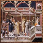 Pietro Lorenzetti (c. 1280 - 1348)  Flagellation of Christ  c. 1320  Fresco  Lower Church, San Francesco, Assisi, Italy