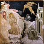 Pietro Lorenzetti (c. 1280 - 1348)  Stigmata of St Francis  c. 1320  Fresco  Lower Church, San Francesco, Assisi, Italy