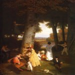 Jacques-Laurent Agasse (1767-1849)  The Playground  Oil on canvas, 1830  Oskar Reinhart Foundation, Winterthur