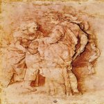 Andrea Mantegna (Isola di Cartura, about 1430/31 - Mantua, 1506)  Judith with the Head of Holofernes  Drawing  Public collection
