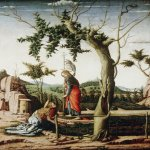 Andrea Mantegna (Isola di Cartura, about 1430/31 - Mantua, 1506)  Noli me tangere  Painting  Public collection