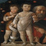 Andrea Mantegna (Isola di Cartura, about 1430/31 - Mantua, 1506)  The Holy Family with St John  Painting  Public collection