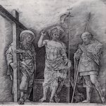 Andrea Mantegna (Isola di Cartura, about 1430/31 - Mantua, 1506)  The Resurrection of Christ  Drawing  Public collection