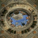 Andrea Mantegna (Isola di Cartura, about 1430/31 - Mantua, 1506)  Ceiling Oculus  Fresco, 1471-1474  106 1/4 x 106 1/4 inches (270 x 270 cm)  Camera degli Sposi, Ducal Palace, Mantua, Italy