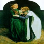 John Everett Millais (8 June 1829  13 August 1896)  The Return of the Dove to the Ark  Oil on canvas, 1851  54.6 x 87.6 cm (21&#189;