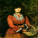John Everett Millais (8 June 1829 – 13 August 1896)  Miss Eveleen Tennant  Oil on canvas, 1874  1415 x 1137 mm  Private collection