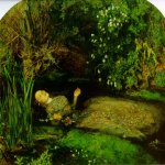 John Everett Millais (8 June 1829 – 13 August 1896)  Ophelia  Oil on canvas, 1851-1852  111.8 x 76.2 cm (3' 8.02