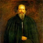 John Everett Millais (8 June 1829 – 13 August 1896)  Portrait of Lord Alfred Tennyson  Oil on canvas  Private collection