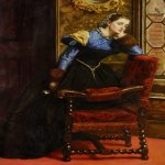 John Everett Millais (8 June 1829 � 13 August 1896)  Swallow Swallow  Oil On Canvas, 1864  102 x 76 cm  (3' 4.16