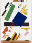 Kazimir Malevich (1879� 1935) Suprematist Composition Oil on canvas, 1916 88.5 cm × 71 cm (34.8 in × 28 in) Private collection