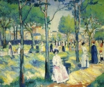 Kazimir Malevich (18781935) On the Boulevard Oil on canvas, 1903 55 x 66 cm The Russian Museum, St. Petersburg, Russia