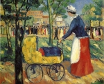 Kazimir Malevich (1878–1935) Boulevard Oil on canvas, 1903 56 x 66 cm The Russian Museum, St. Petersburg, Russia