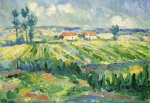 Kazimir Malevich (1878–1935) Fields Oil on canvas 25 x 35 cm The Russian Museum, St. Petersburg, Russia
