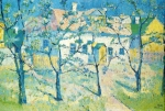 Kazimir Malevich (1878�1935) Spring - Garden in Blossom Oil on canvas, 1904 44 x 55 cm The Russian Museum, St. Petersburg, Russia
