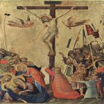 Martini, Simone (Siena, 1284 - Avignon, 1344)  Orsini-Altar, Szene: Crucifixion  Tempera on panel, c. 1333  24,4 × 15,5 cm  Royal Museum of Fine Arts of Antwerp, Antwerp, Belgium