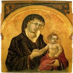 Martini, Simone (Siena, 1284 - Avignon, 1344)  Madonna and Child  Gold and tempera on panel,about 1312-1315  74.3 x 56.3 cm  Pinacoteca Nazionale, Siena, Italy