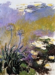 Claude Monet (1840-1926) Agapanathus Oil on canvas 1914-17