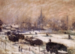 Claude Monet (1840-1926) Amsterdam in the Snow Oil on canvas 1874