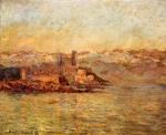 Claude Monet (1840–1926) Antibes and the Maritime Alps Oil on canvas, 	 1888