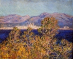 Claude Monet (1840–1926) Antibes Seen from the Cape, Mistral Wind Oil on canvas, 	1888