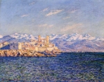 Claude Monet (1840–1926) Antibes, Afternoon Effect Oil on canvas, 	1888