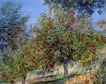 Claude Monet (1840–1926) Apple Trees on the Chantemesle Hill Oil on canvas, 1878