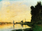 Claude Monet (1840–1926) Argenteuil, Late Afternoon Oil on canvas, 1872
