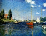 Claude Monet (1840–1926) Argenteuil. Yachts Oil on canvas, 1875