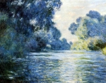 Claude Monet (1840–1926) Arm of the Seine at Giverny Oil on canvas, 1887