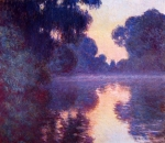 Claude Monet (1840–1926) Arm of the Seine near Giverny at Sunrise Oil on canvas, 1887