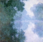 Claude Monet (1840–1926) Arm of the Seine near Giverny in the Fog Oil on canvas, 1887