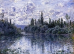 Claude Monet (1840�1926) Arm of the Seine near Giverny in the Fog Oil on canvas, 1878
