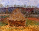 Claude Monet (1840–1926) Grainstack at Giverny Oil on canvas, 1888-1889
