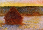 Claude Monet (1840–1926) Grainstack at Sunset Oil on canvas,  1891 Museum of Fine Arts, Boston, United States