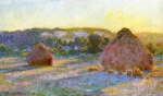 Claude Monet (1840�1926) Wheatstacks (End of Summer) Oil on canvas,  1890-1891 60 x 100 cm (23 5-8 x 39 3-8 in) Art Institute of Chicago