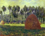 Claude Monet (1840–1926) Haystack at Giverny Oil on canvas, 1890-1891