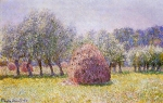 Claude Monet (1840�1926) Haystack Oil on canvas, 	1865