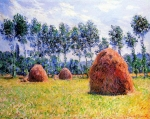 Claude Monet (1840–1926) Haystacks at Giverny  Oil on canvas, 1884