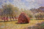 Claude Monet (1840–1926) Haystacks at Giverny  Oil on canvas, 	1895