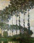Claude Monet (1840-1926) Poplars near Giverny Oil on canvas 1891