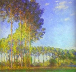 Claude Monet (1840-1926) Poplars on the Banks of the Epte Oil on canvas