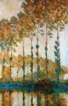 Claude Monet (1840-1926) Poplars on the Banks of the River Epte in Autumn Oil on canvas 1891