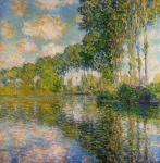 Claude Monet (1840-1926) Poplars on the Banks of the River Epte Oil on canvas 1891-92 The National Museum of Western Art, Tokyo