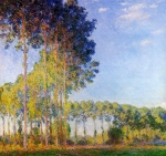 Claude Monet (1840-1926) Poplars on the Banks of the River Epte, Seen from the Marsh Oil on canvas 1891-92