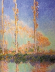 Claude Monet (1840-1926) Poplars Oil on canvas 1891