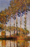 Claude Monet (1840-1926) Poplars, Row Oil on canvas 1891